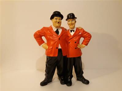 Sculpture Laurel et Hardy H - 50cm