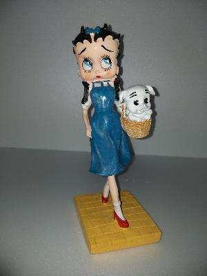 Sculpture betty boop H-37cm